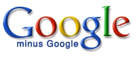 Old Google minus Google logo