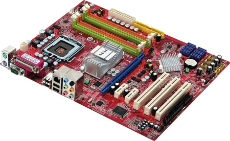 MSI P43 Neo motherboard