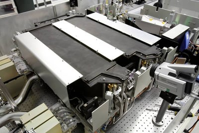 "A 15-kilowatt JHPSSL laser ""chain"""