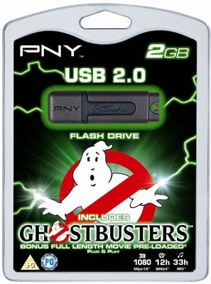 PNY Ghostbusters Flash drive
