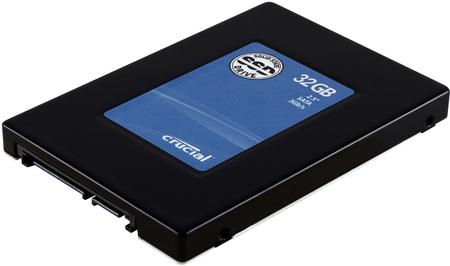 Crucial 32GB SSD