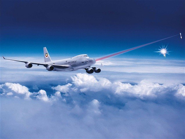 Boeing's concept of an ABL in action