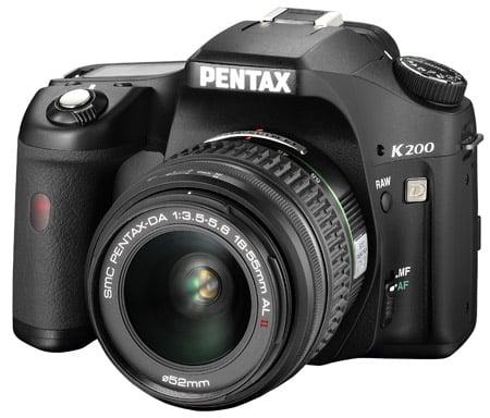 Pentax K200D DSLR