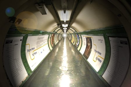 Near-death... or the London Underground - is it one in the same?