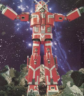 Dai-X from Star Fleet (known as Ekkusu Bonba)