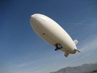 A Sky Dragon Blimp without COSH fitted