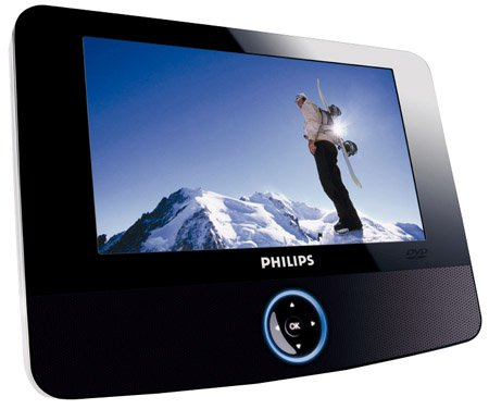 Philips PET723 portable DVD player