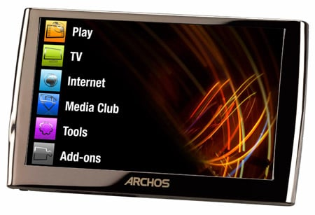 Archos 5 internet media tablet By Alun Taylor 