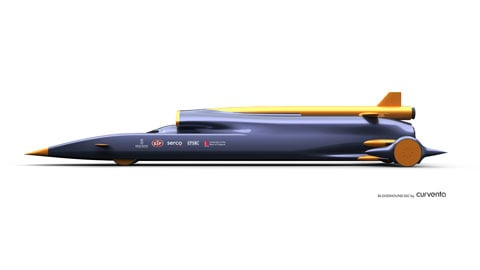 Bloodhound Car concept art