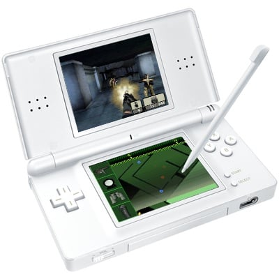 Nintend DS with Call of Duty 4