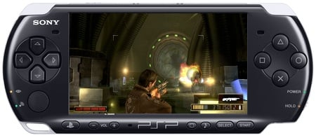 PSP-3000 with Resistance:Retribution