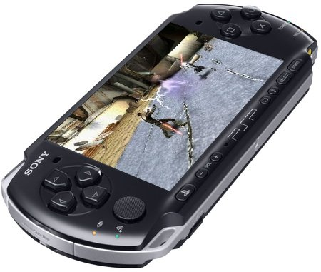 PSP w/ star wars game and Images