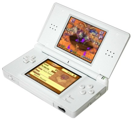 Nintendo DS with Children of Mana
