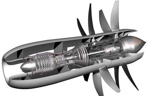 New open rotor engines, as envisaged by Rolls Royce
