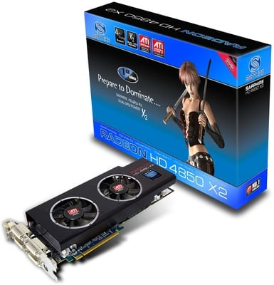 Sapphire HD 4850 X2