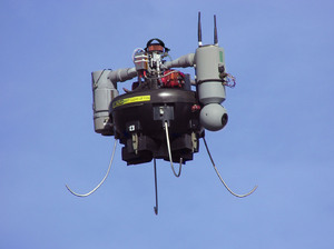The latest Honeywell MAV - now branded T-Hawk&trade
