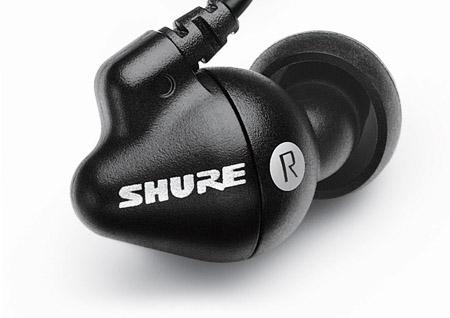 Shure SE102 sound isolating headphones