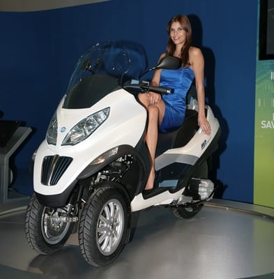 Piaggio Mp3 To Beat Chevy Volt To Plug On Mass Production