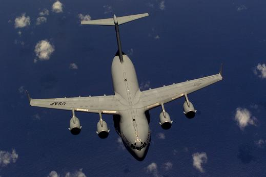The existing C-17 transport