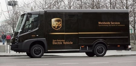 UPS' 'leccy van