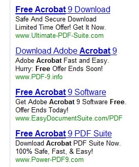 AdWords Acrobat Ads