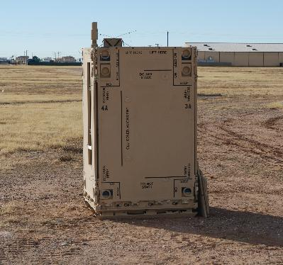 A fifteen-missile NLOS-LS container unit