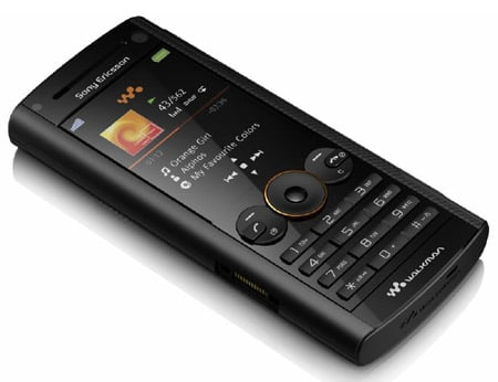 Sony Ericsson W902 Walkman mobile phone