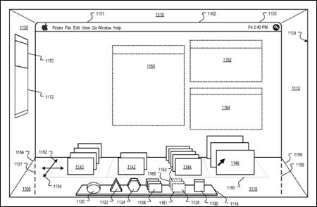Apple 3D patent application - 1