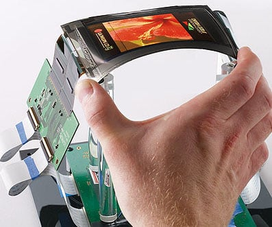 UDC_flexible_OLED_screen
