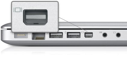 Apple's DisplayPort mini-connector