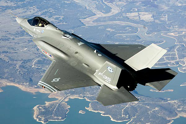 The F-35 A model, for normal runways, now in flight test