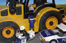 Police pursue JCB