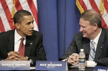 President Obama and GM chief