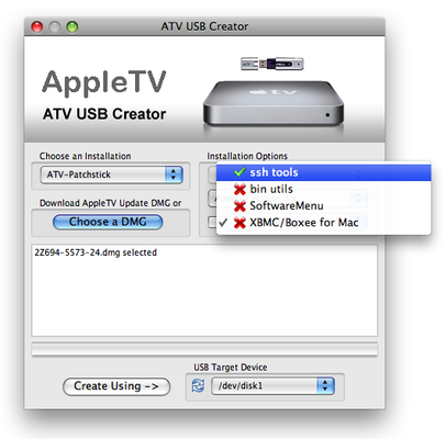 ATV USB Creator