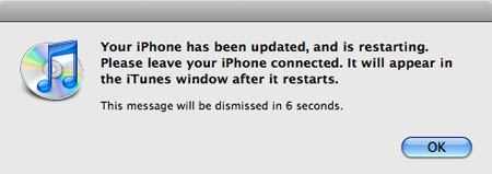 iPhone 2.2.1 update