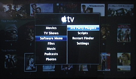 Apple TV SoftwareMenu