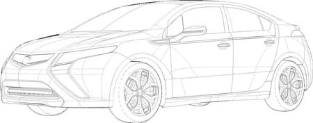 GM Ampera sketch