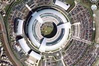 GCHQ as seen on Google Earth
