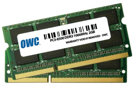 Other World Computing 2GB SO-DIMMs