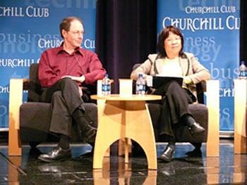 Rick Rashid and Josephine Cheng