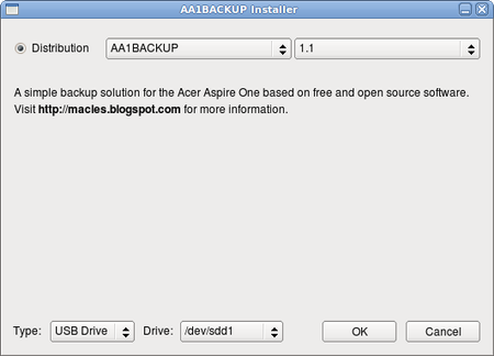 Macles AA1Backup