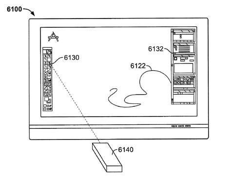 Apple remote-wand patent - drawing application