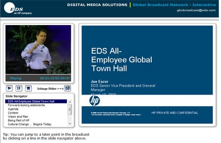 EDS Town Hall