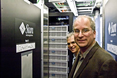 Wayback Machine - Greg Papadopoulos and Brewster Kahle