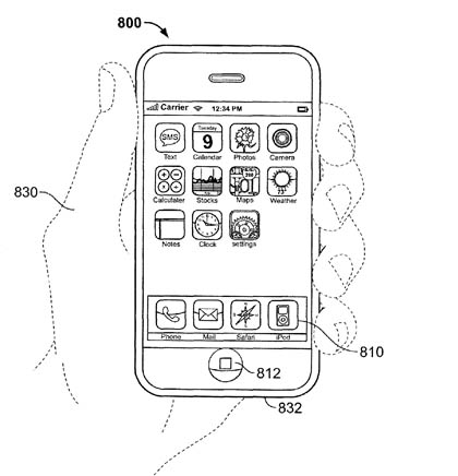 Apple biometric-security patent