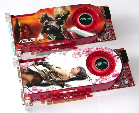 Asus Radeon HD 4870 and 4890