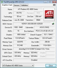 Asus Radeon HD 4870