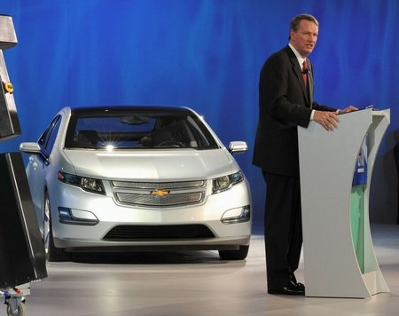 GM's departing CEO, Rick Wagoner