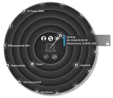 Toshiba Tecra M10 - Radar