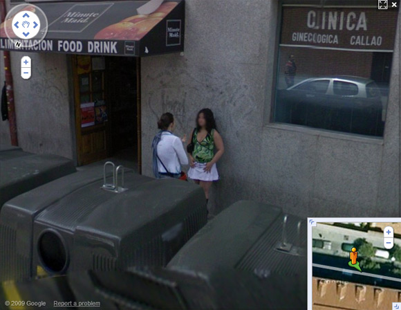 Prostitute on Madrid's Calle del Desengaño
